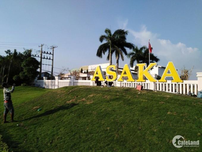 Dự án Asaka Bến Lức- Pháp lý rỏ ràng- đầu tư an toàn, giá chỉ 13tr/m2