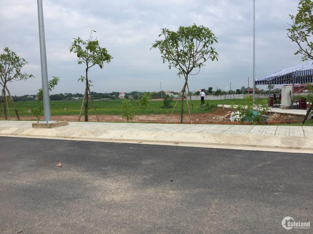 Bán 500 lô đất mặt tiền TL7, sổ riêng, thổ cư, khu dân cư Trường Hải Residence