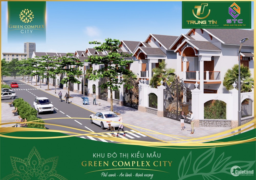 Dự án thần tốc mang tên Green complex city ngay biển Bình Định sở hữu ngay