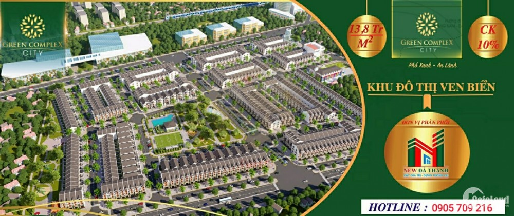 Vì sao nên đầu tư đất nền KDT Green Complex City ??
