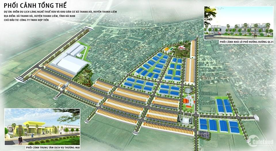 Cơ hội cuối cùng mua đất đẹp tặng vàng may mắn tại KDT Thanh Hà Hà Nam- LH: 0983