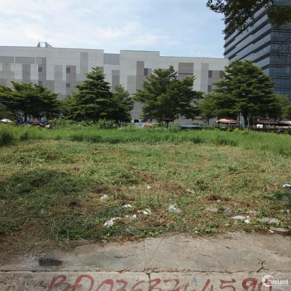 Cần bán gấp mảnh đất cạnh cổng sau Trung tâm thương mại VIVO CITY QUẬN 7