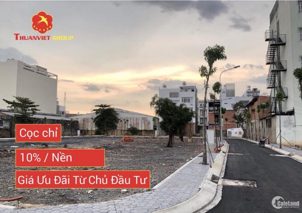 Bán đất nền dự án Hòa Bình City gồm 76 nền,sổ hồng riêng , giá tốt cho đầu tư