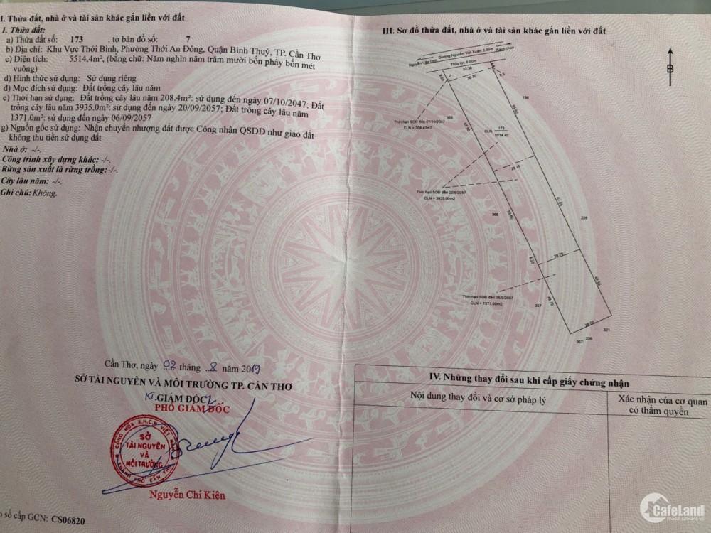 Bán gấp đất mặt Tiền Nguyễn viết xuân 5514