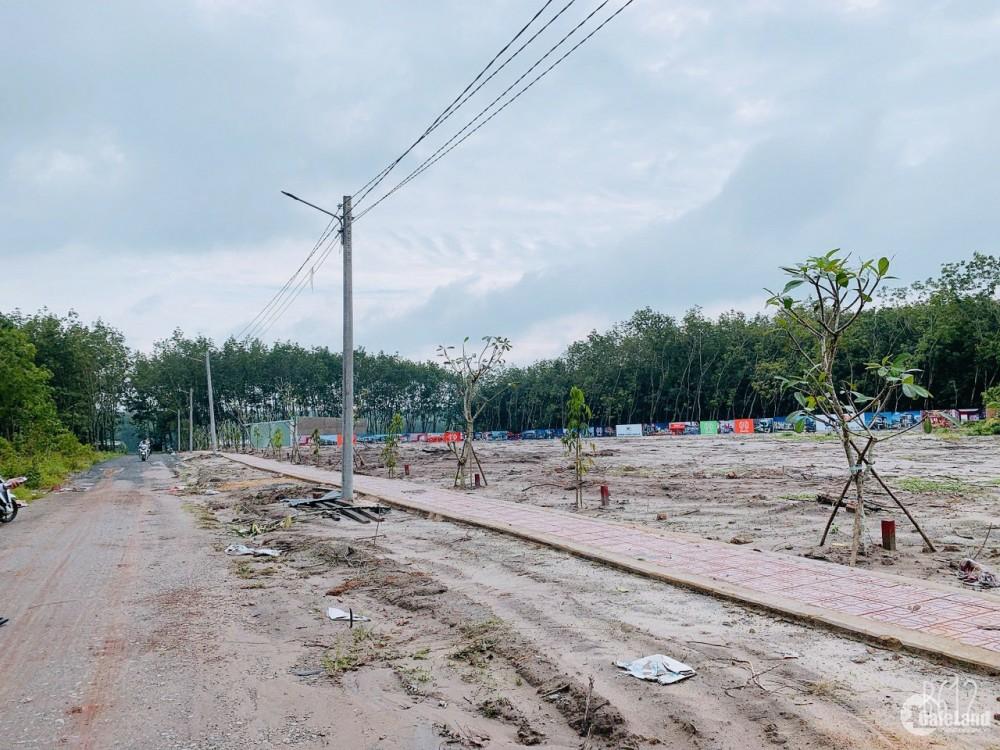 Đất KCN Minh Hưng - Chơn Thành - Bình Phước.