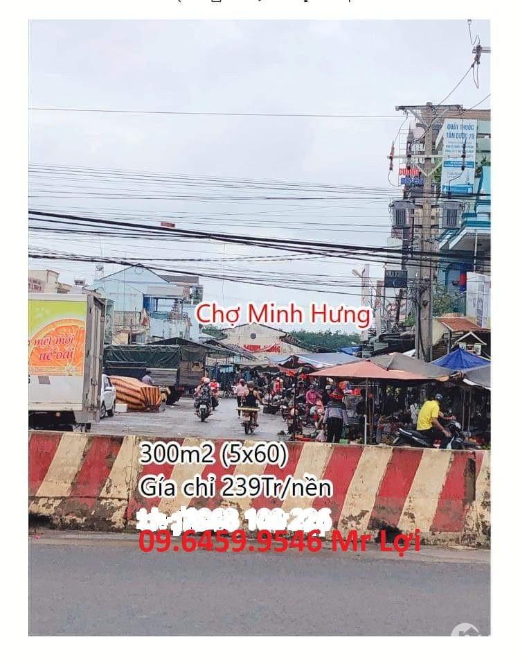 BÁN ĐẤT NỀN ĐẦU TƯ NGAY KHU CÔNG NGHIỆP MINH HƯNG