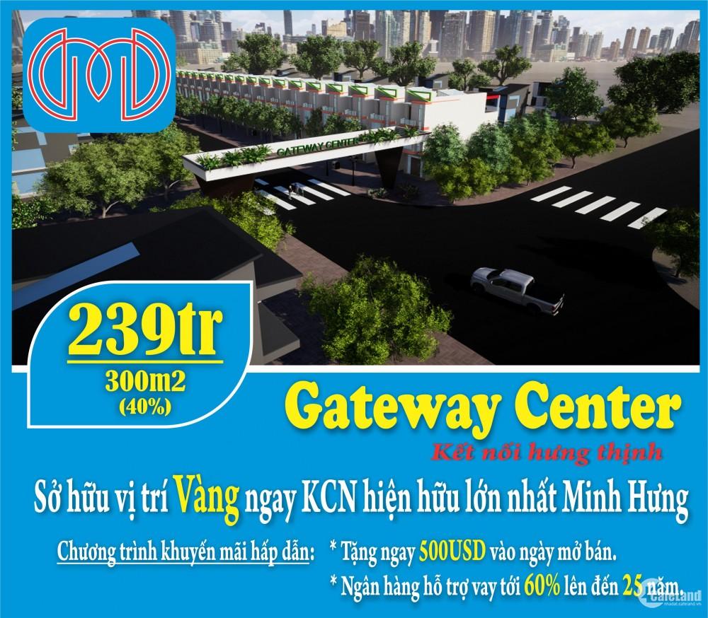 Đất nền 589 triệu 1 nền 300m2 liền kề KDC Đại Nam-KCN Minh Hưng Hàn Quốc