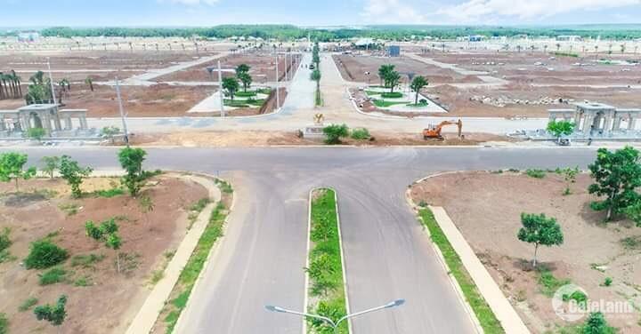 Bán đất nền mặt tiền QL14 ngay trung tâm TP Mới, chiết khấu 10% , có SHR