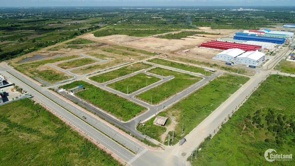 Bán đất dự án KCN Hải Sơn, Tân Đức, đường vào 45m, DT 100m2, CK lên đến 16%