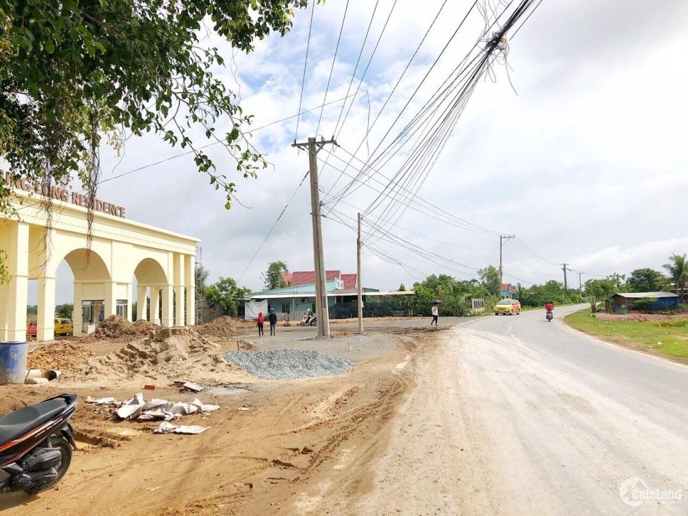 dự án hưng Long nằm tại mặt tiền đường ql N2 , đối diện sân golf lớn