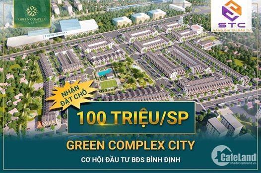 Đất nền Bình Định- Green complex city
