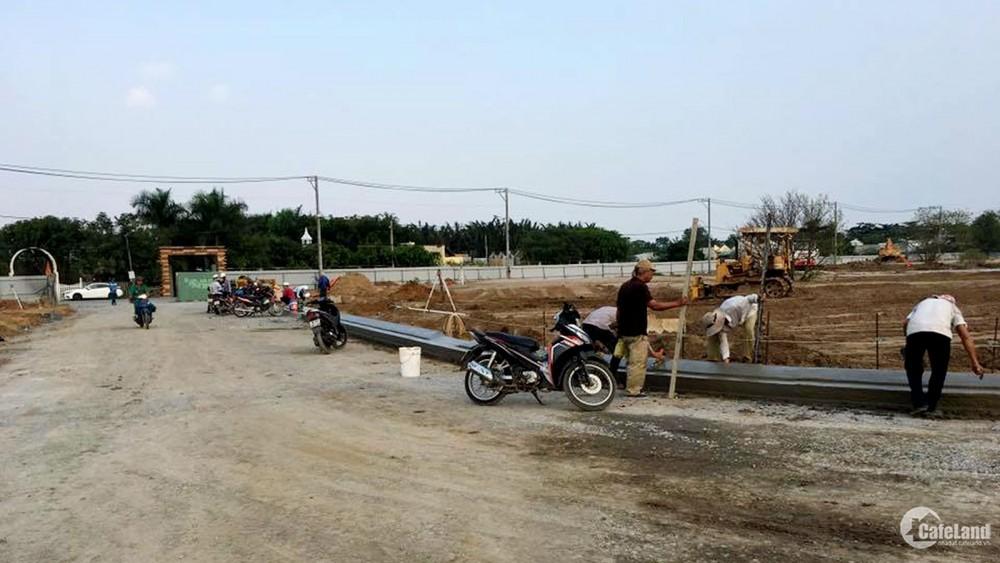 Đất đầu tư ở  khu dân cư xây dựng mới ở huyện Bình chánh xã vĩnh lộc B