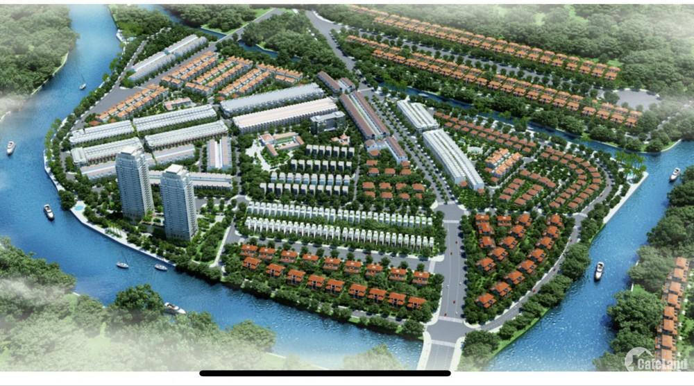 Bán nền nhà chính chủ, KDC Đại Phúc Green Villas - Bình Hưng - Q.Bình Chánh
