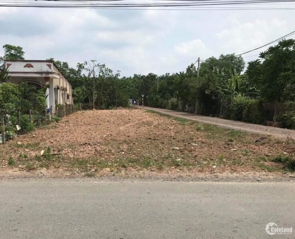 Bán đất thổ cư  120m2, sổ riêng , mặt tiền đường Nguyễn Thị Lắng , Củ Chi