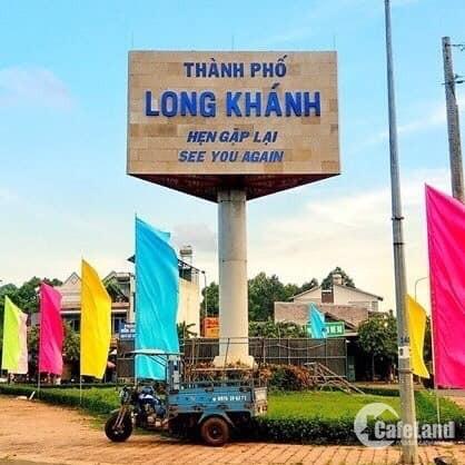 Chiết khấu 1-2% nền đất sổ đỏ ngay chợ Bình Lộc TP Long Khánh, giá 8,5 triệu/m2.
