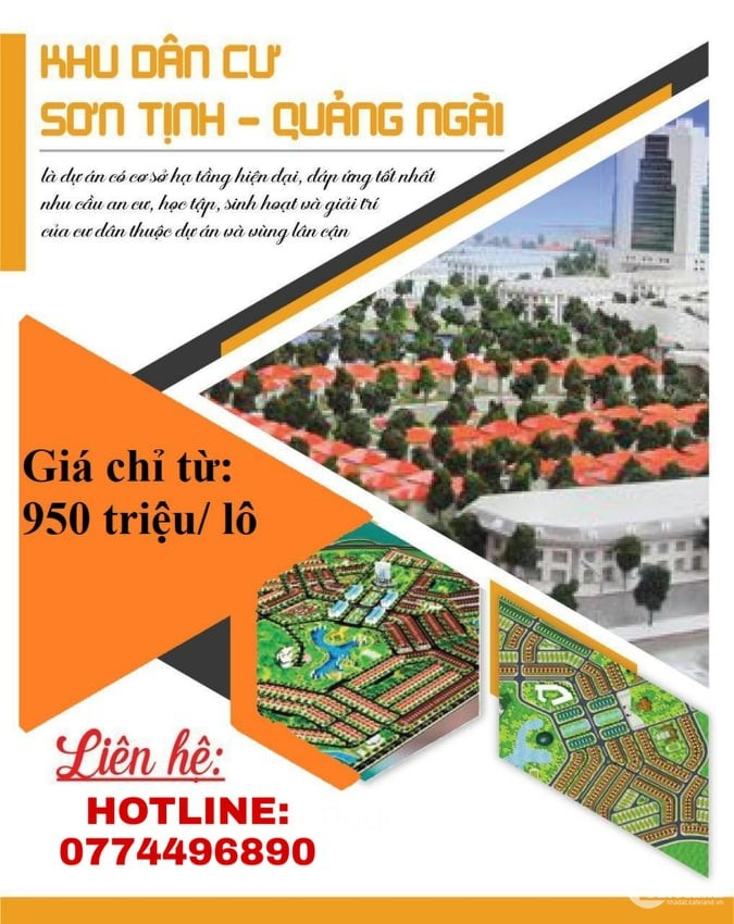 Dự án KDC Sơn Tịnh 577 mở thêm nhiều vị trí mới để chọn lựa