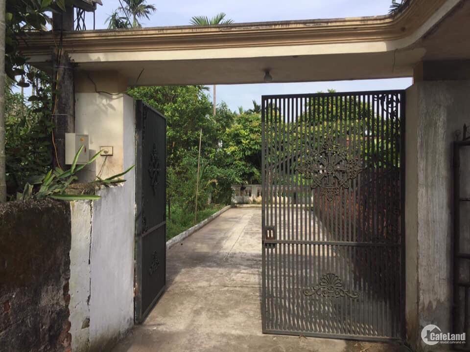 Bán đất tặng luôn ngôi nhà tại xã Cấp Tiến , Tiên Lãng , Hải Phòng