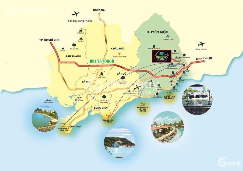 Đầu tư nông trại sinh thái Bình Châu-Hồ Tràm chỉ 1,7 triệu/m2