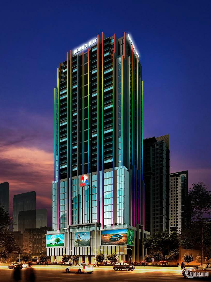 Cho thuê MB 110m2 - 134m2 tại GoldTower ,275 Nguyễn Trãi giá từ 575 nghìn/m2/th