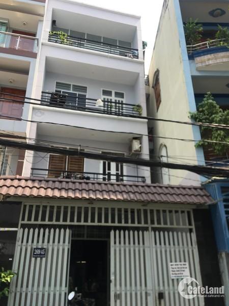 Cho thuê căn nhà sau lưng bv Chỡ rẫy đường Phạm Hữu Chí Q5