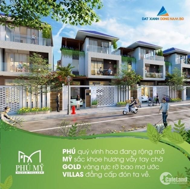 """Đất nền dự án Phú Mỹ Gold Villas """"Thiên đường xanh giữa lòng phố thị"""""""