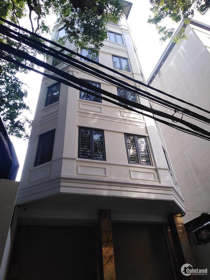 cho thuê nhà ở Cổ Nhuế, 220m x8 tầng, 58tr/th