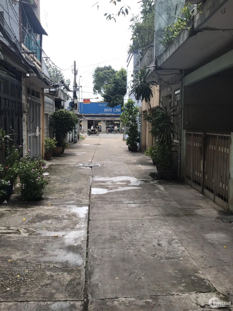 Cho thuê nhà HXH Lý Thường Kiệt, P.13, Q.11, DT: 4x20, 4PN,3WC, nhà mới, Giá:25