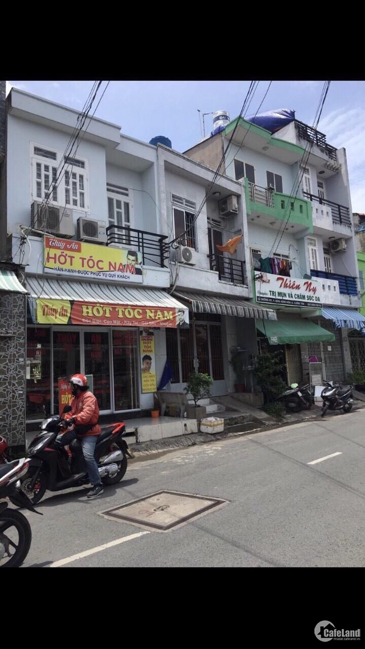 Cho thuê nhà MT Tân Sơn Nhì DT 4,5x10m 1 lững 2 lầu giá 10 triệu