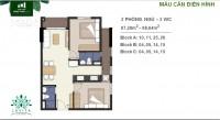 Hưng Thịnh bán căn hộ Lavita Charm 1,8tỷ/67m2, trả góp 2 năm 0% lãi suất