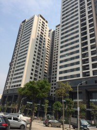 Bán chung cư Việt Đức Complex, căn góc, 92m2, 3PN, hoàn thiện nội thất, giá rẻ