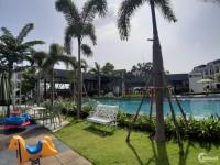 Villa mặt tiền view công viên, hồ bơi 100m2 1 trệt 2 lầu tiện ích nội khu miễn p