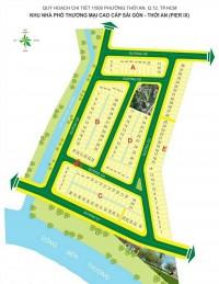 cần sang nhượng gắp căn biệt thự shophous  q12 ,ngay UBND quận ,giá rẻ,
