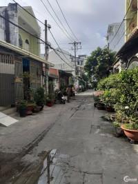 Bán nhà hẻm 6m thông  Thạch Lam P,Phú Thạnh  Q,Tân Phú  DT 4x16   1 trệt 2 lầu