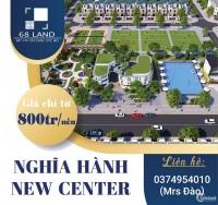 Hãy đầu tư BĐS chỉ từ 50 triệu tại dự án KDC Đồng Dinh - Nghĩa Hành