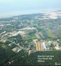 Đất nền giá rẻ mặt tiền đường ven biển Long Hải - Hồ Tràm