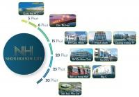 Đất nền sổ đỏ sở hữu mặt tiền biển Quy Nhơn, xây dựng tự do, giá chỉ 1,5tỷ