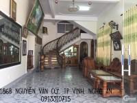 Cho thuê mặt bằng kinh doanh mặt đường Lê Lợi, tp Vinh diện tích 350m2