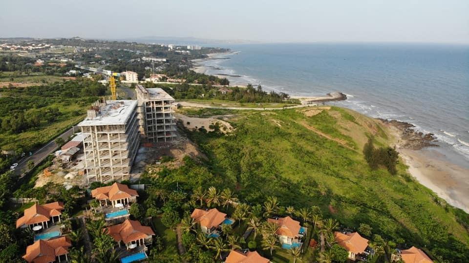 Sở hữu căn hộ sát ngay biển không qua đường Edna Resort Mũi Né Phan Thiết