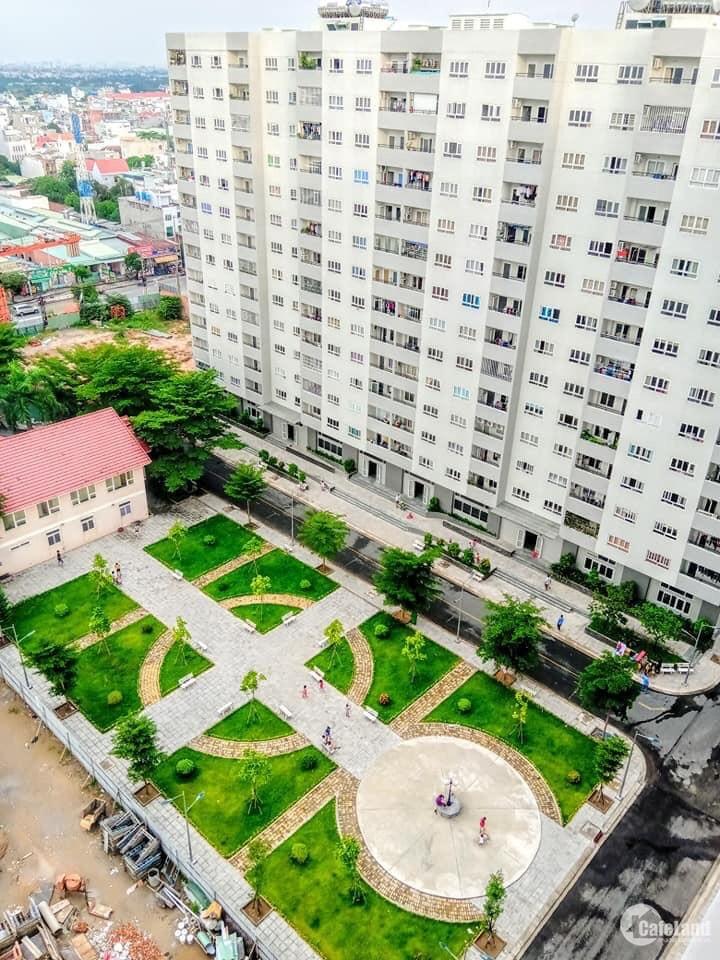 Bán gấp căn hộ Hà Đô , lê thị riêng ,quận 12, dt 56m ,2 PN, giá 1,520ty