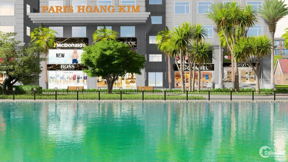 Paris Hoàng Kim, 57m2/2 PN (Căn Góc) –View Sông - Giá chỉ 3.9 tỷ, CK lên đến 10%