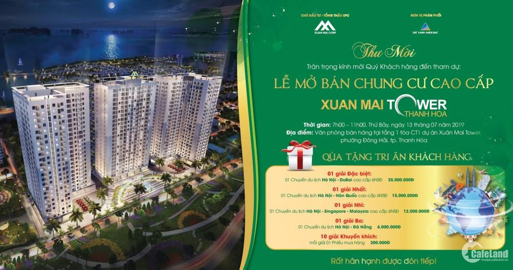 Sở hữu căn hộ cao cấp chỉ hơn 600tr trung tâm TP Thanh Hóa