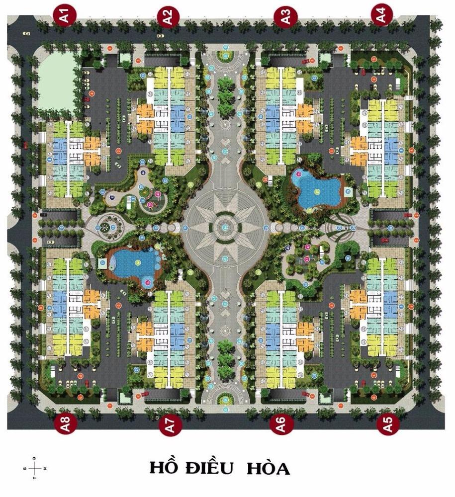 Căn hộ số 10 tòa A5, tầng trung chung cư An Bình City