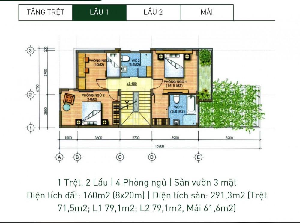 MỞ BÁN ĐỢT 1 KĐT ĐÔNG TĂNG LONG - Giá chỉ 30tr/m2 - Pháp lý chuẩn