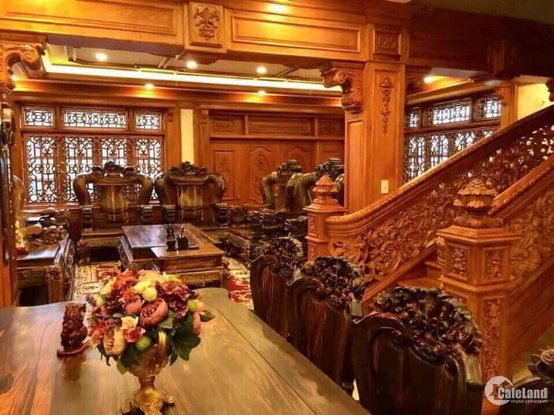Biệt thự Phủ đại Gia Tân Bình, dt 12,2x 24m, full gỗ quý, giá 55 tỷ