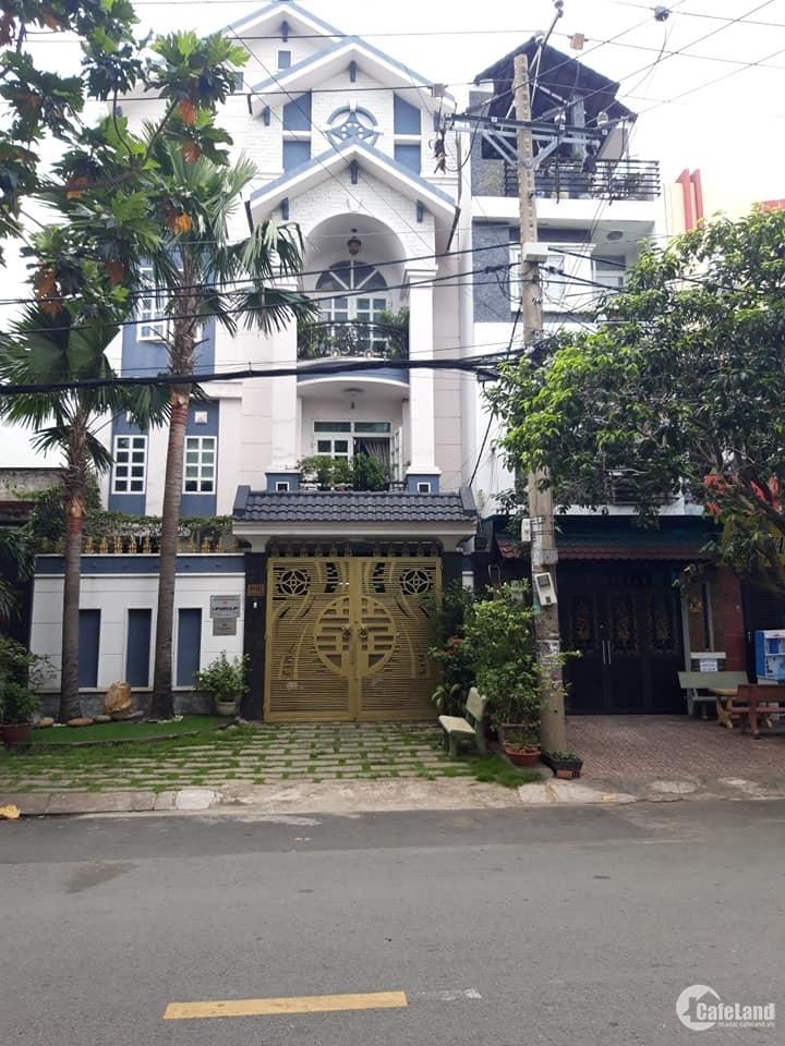 BIỆT THỰ_MT P Tân Sơn Nhì, dt 8x18m, 1 trệt 2 lầu st, cực đẹp_giá tốt