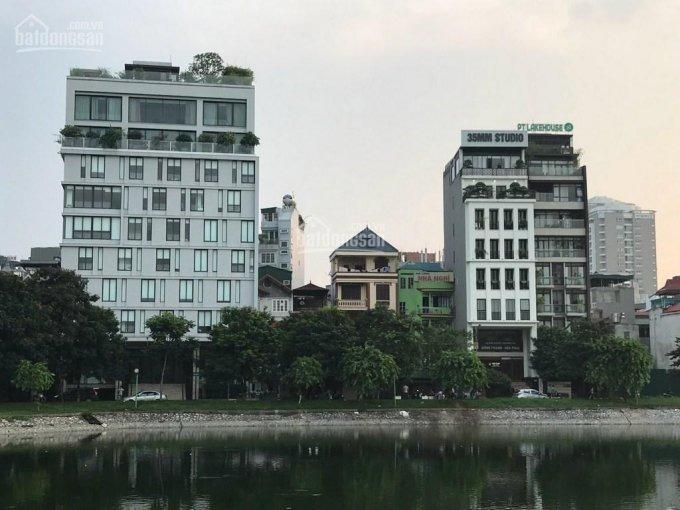 Bán nhà hồ Ba Mẫu, 57m, 7 tầng thang máy, giá 17,5 tỷ.