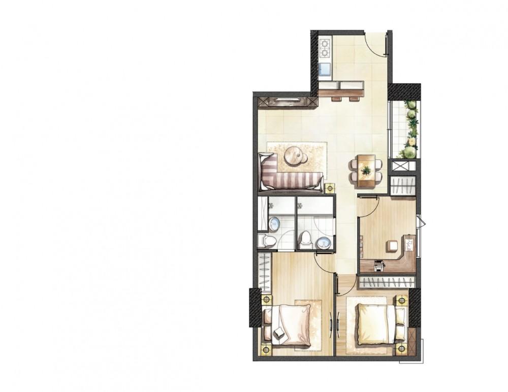 Căn hộ MT Lương Đình Của, Quận 2 - chỉ 399Tr, thanh toán 1%/tháng khi nhận nhà