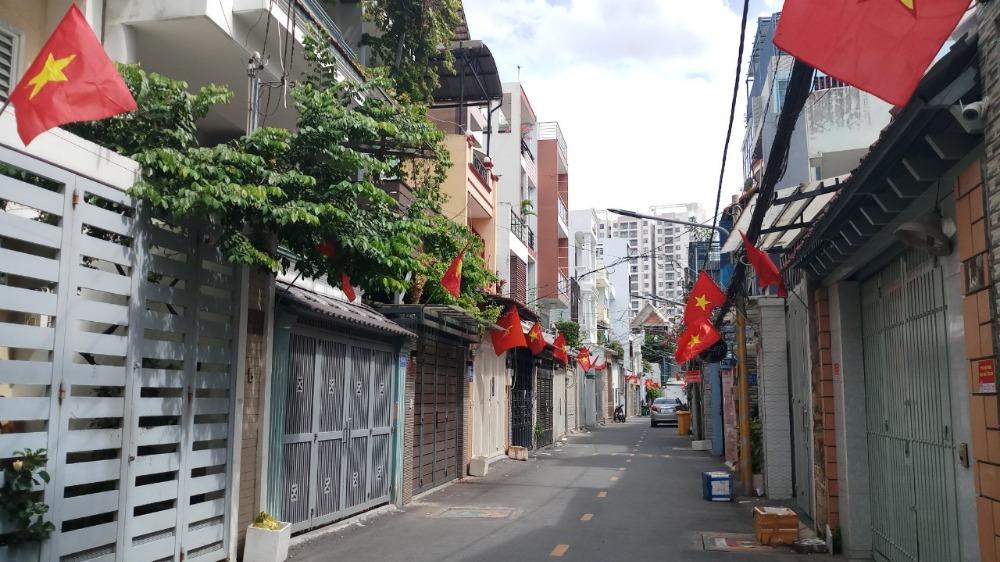 Bán nhà hẻm 502 Huỳnh Tấn Phát Phường Bình Thuận Quận 7.