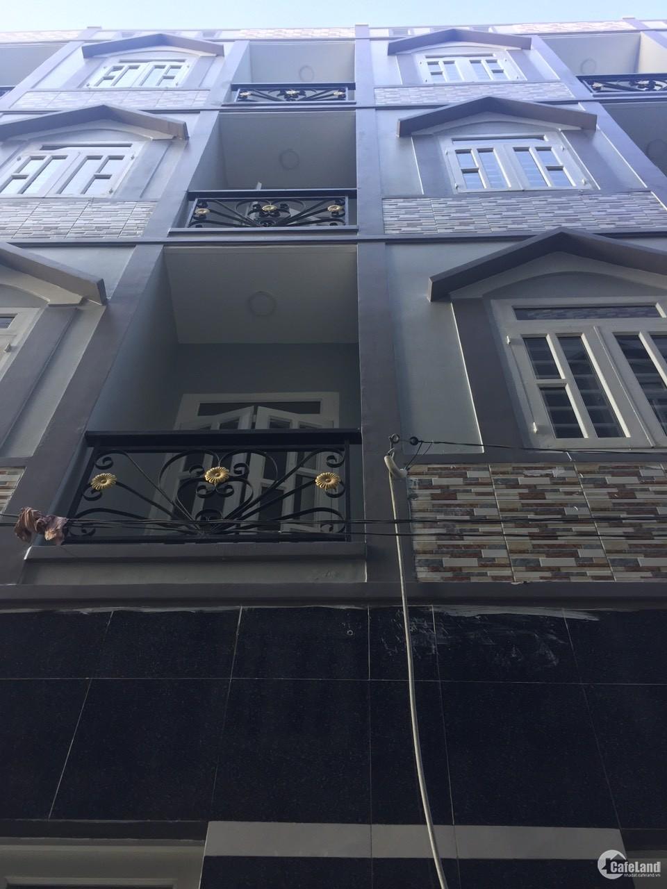 Nhà mới Tây Lân, Bình Tân. 120m² Đúc 4 Tấm