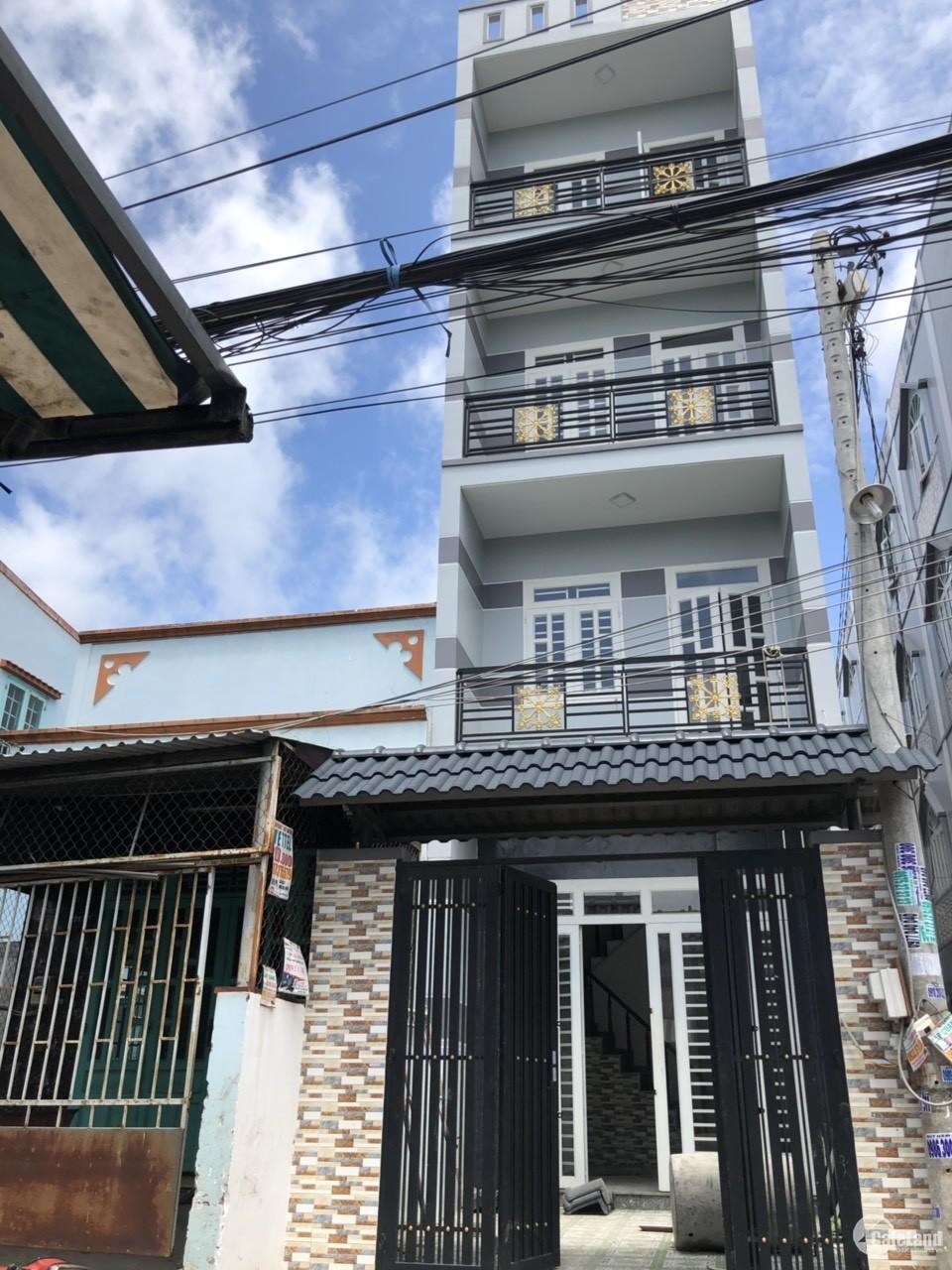 Bán Nhà 4 Tấm Đúc Thật Quận Bình Tân,Sổ Hồng Công Chứng,Giá 1 Tỷ 790